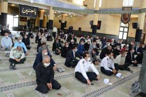 میز خدمت در مصلی نماز جمعه شهر ملارد برگزار شد