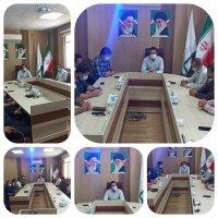 جلسه هم اندیشی در سازمان حمل و نقل بار و مسافر شهرداری ملارد