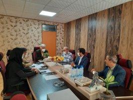 جلسه هم اندیشی درامد پایدار و ارائه خدمات بهتر در شهرملارد