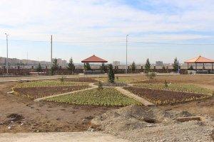 جمعه های کاری در  روند احداث فضای سبز بوستان ورزش