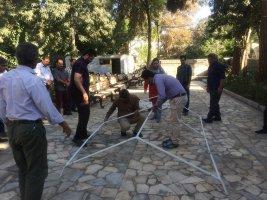 دوره کمک های اولیه در سازمان سیما،منظر و فضای سبز شهری ملارد برگزار شد