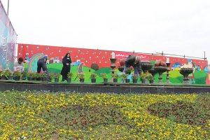 اجرای جانمایی و نصب المانهای نوروزی در سطح شهر ملارد