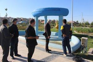 بازدید میدانی جباری ازآخرین اقدامات صورت گرفته جهت افتتاح بوستان ورزش ملارد