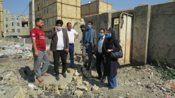 جمع آوری مراکز غیر مجاز ضایعاتی خیابان مطهری سرآسیاب