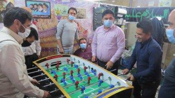 برگزاری مسابقات فوتبال دستی در سازمان پسماند شهرداری ملارد