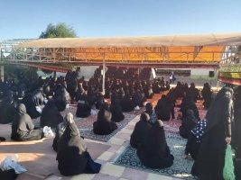 برگزاری مراسم عزاداری سید وسرور شهیدان حضرت اباعبدالله الحسین(ع) در بوستان مادر