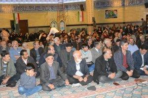 اربعین شهادت سردار حاج قاسم سلیمانی در شهر ملارد برگزار گردید
