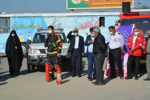 به مناسبت روز کاهش بلایای طبیعی در شهر ملارد برگزارشد