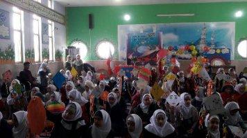 برگزاری جشن روز هوای پاک در آموزشگاه پیامبر اعظم(ص)