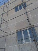 اجرای نمای شسته ساختمان اداری گلزار شهدای شهرداری ملارد