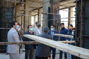 بازدید شهردار، رئیس و اعضای شورای اسلامی شهر ملارد از پروژه های عمرانی این شهر