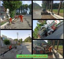 نظافت شهری شهرداری ملارد به روایت تصویر