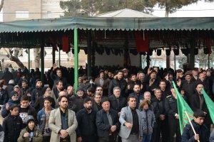 برگزاری اجتماع فاطمیون در شهر ملارد با حضور پر شور مردم و مسئولین